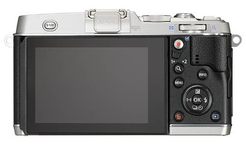 Olympus PEN E-P5 camera back