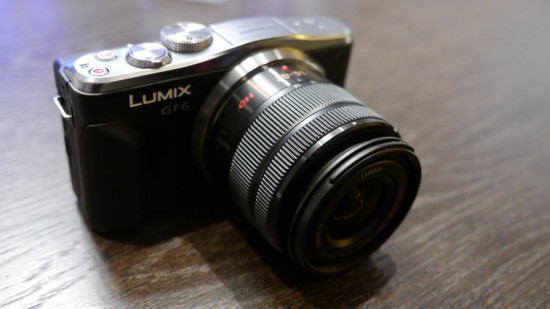 Panasonic Lumix GF6 camera
