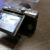 Panasonic Lumix GF6 camera screen