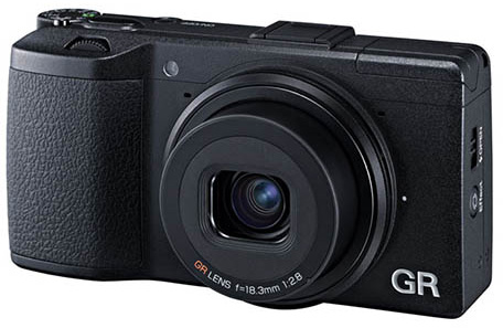 Ricoh GR digital APS C compact camera This is the Ricoh GR