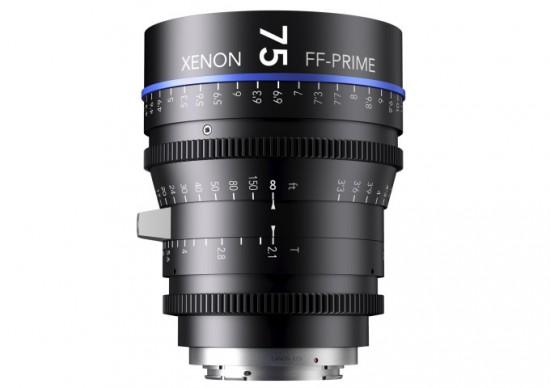 Schneider-Kreuznach Xenon full frame primes cinema lenses