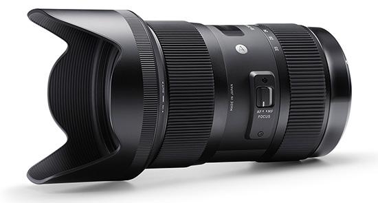 Lens Canon 35mm F1.8 Sigma-18-35mm-f1.8-dc-hsm-lens
