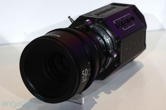 Sony 4K camera prototype
