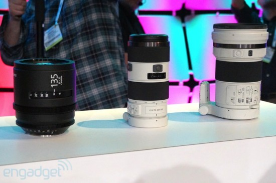 Sony 4k lens prototypes