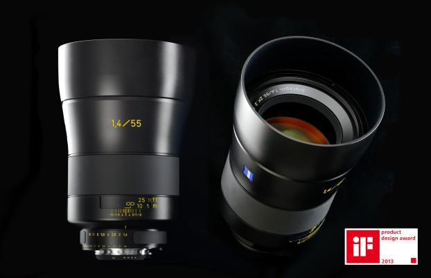 Zeiss f1.4 55mm lens