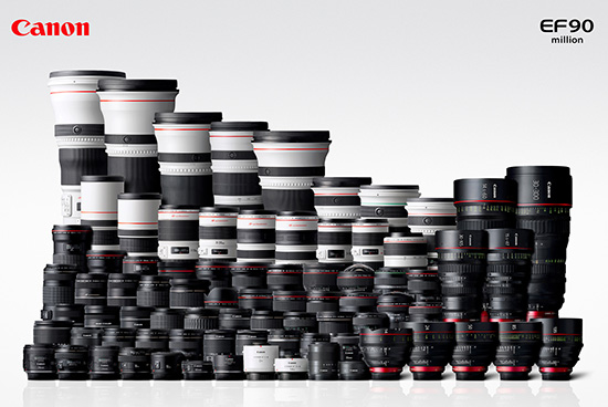 Canon-90-million-EF-interchangeable-lenses