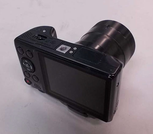 Canon PowerShot SX camera back