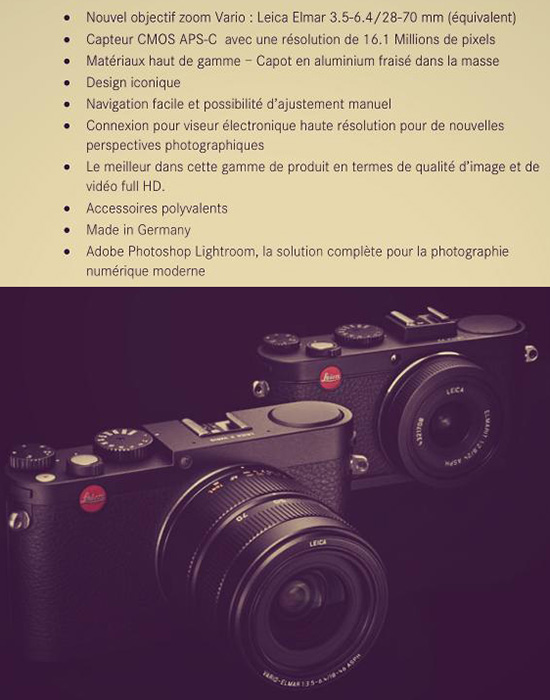 Leica-X-zoom-specifications