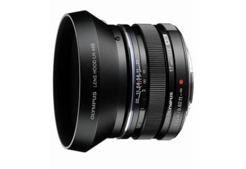 Olympus M.Zuiko Digital 17mm f1.8 lens