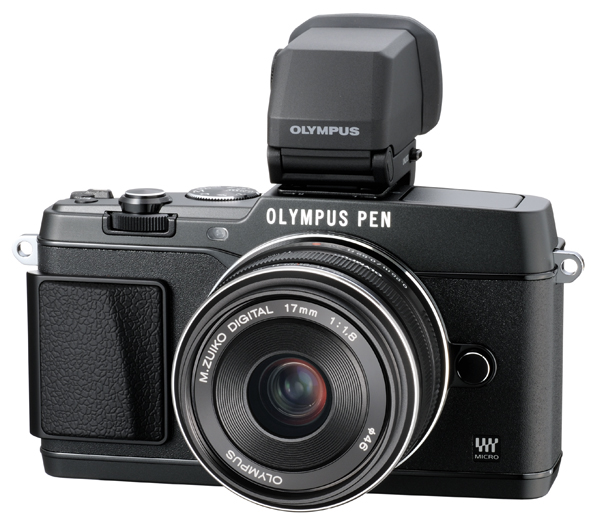 Olympus PEN E-P5 camera EVF