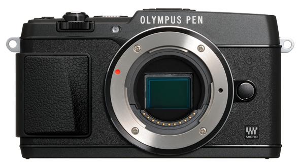 Olympus PEN E-P5 camera black