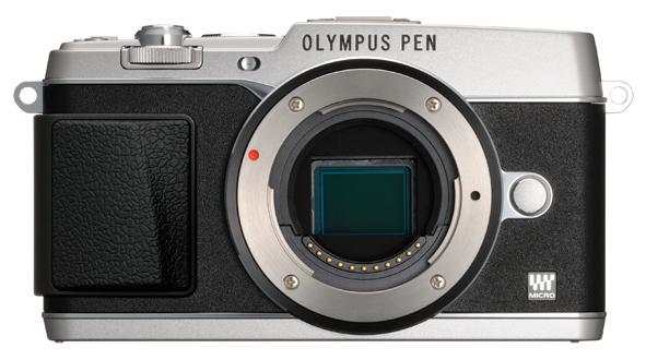 Olympus PEN E-P5 camera silver