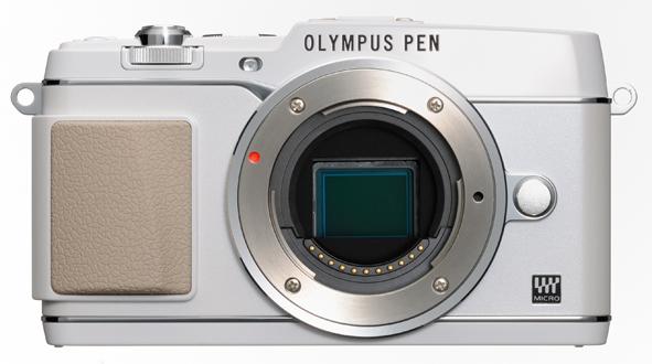 Olympus PEN E-P5 camera white