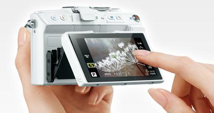 Olympus PEN Lite E-PL6 camera 1