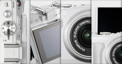 Olympus PEN Lite E-PL6 camera 4