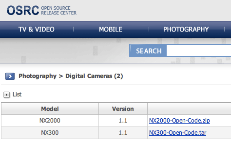 Samsung-NX200-NX300-mirrorless-camera-open-source