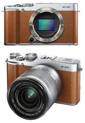 Fuji-X-M1-brown
