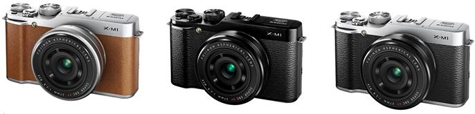 Fuji X-M1 camera colors