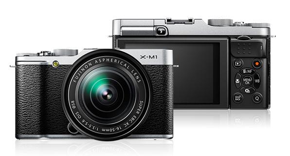 Fuji X-M1-compact mirrorless camera
