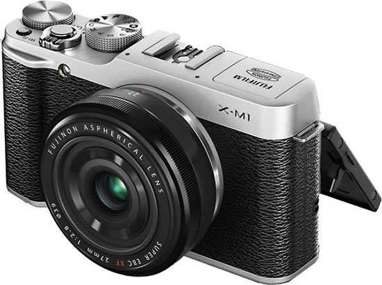 Fuji-X-M1-with-27mm-f2.8-pancake-lens