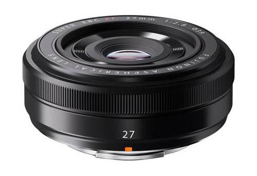 Fuji XF 27mm f28 lens