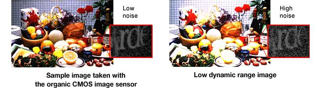 Fujifilm Panasonic organic CMOS image sensor 2