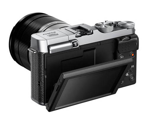 Fujifilm X-M1 camera back