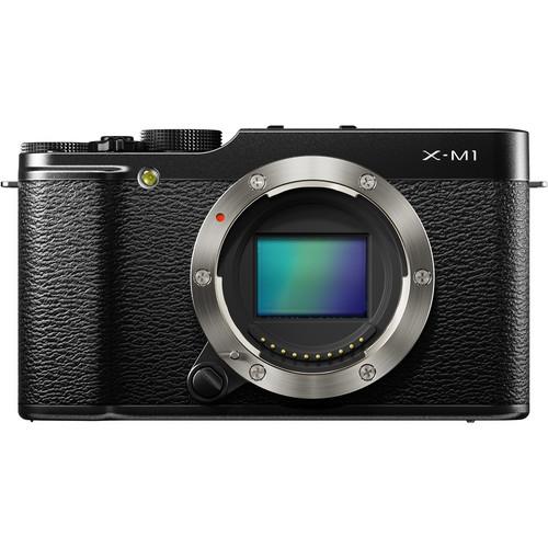 Fujifilm X-M1 camera front
