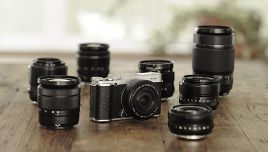 Fujifilm-X-M1-camera-lenses