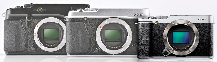 Fujifilm-X-M1-camera-size-comparison