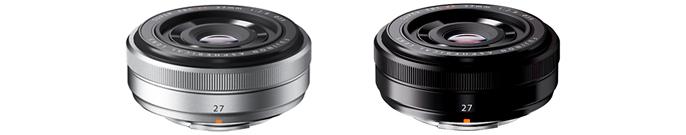 Fujinon XF 27mm f:2.8 R lens