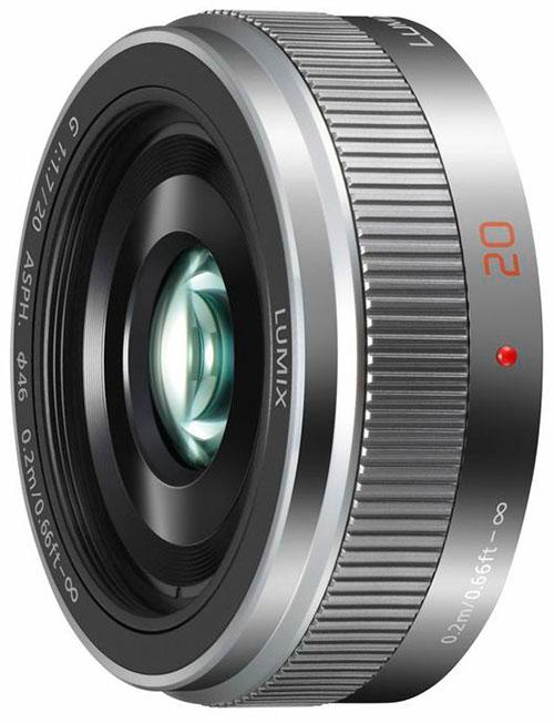 Panasonic-Lumix-G-20mm-f1.7-II-ASPH-lens-silver