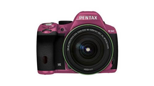 Pentax K-50 pink