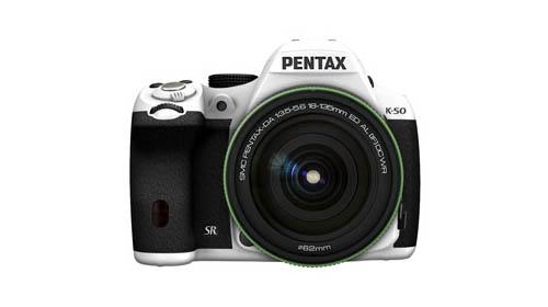Pentax K-50 white
