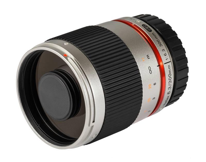 Samayng 300 mm f6.3 reflex lens