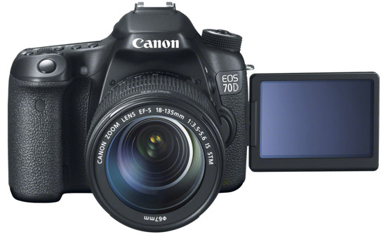 Canon EOS 70D DSLR Camera 1