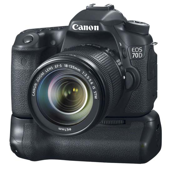 Canon EOS 70D DSLR Camera 8