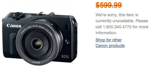 Canon-EOS-M-mirrorless-camera-discontinued