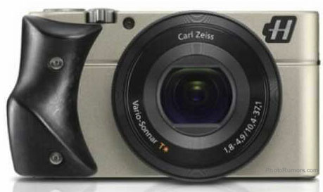Hasselblad Stellar camera with carbon fibre grip