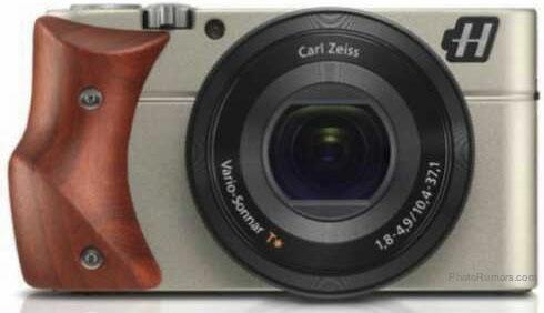Hasselblad Stellar camera with Padouk wood grip