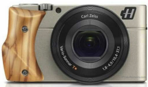 Hasselblad Stellar camera with Olive wood grip