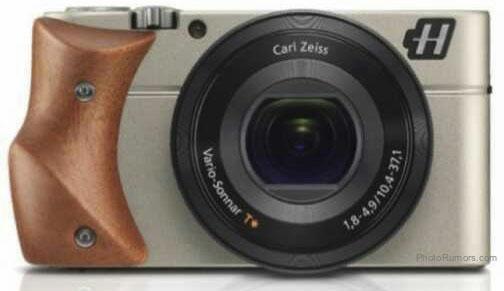 Hasselblad Stellar camera with Mahogany wood grip