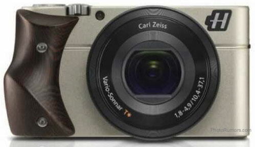 Hasselblad Stellar camera with Wenge wood grip