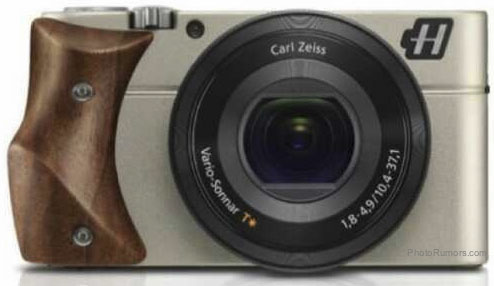Hasselblad Stellar camera with Walnut wood grip