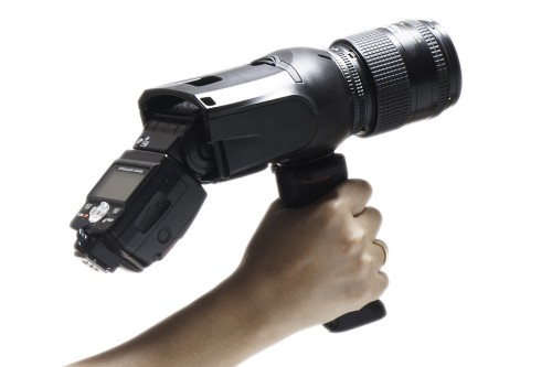 Light Blaster strobe based projector