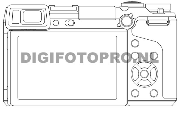 Panasonic GX2 camera back