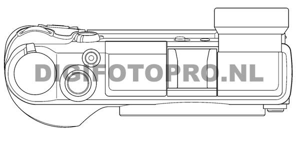 Panasonic GX2 camera top