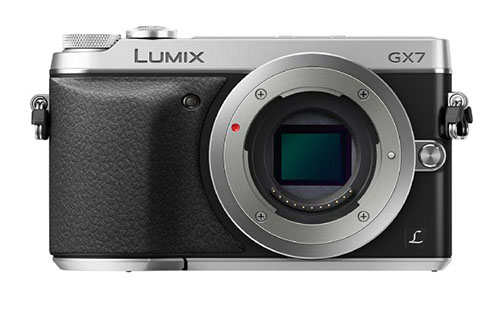 Panasonic GX7 camera front