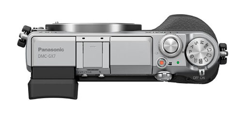 Panasonic GX7 camera top
