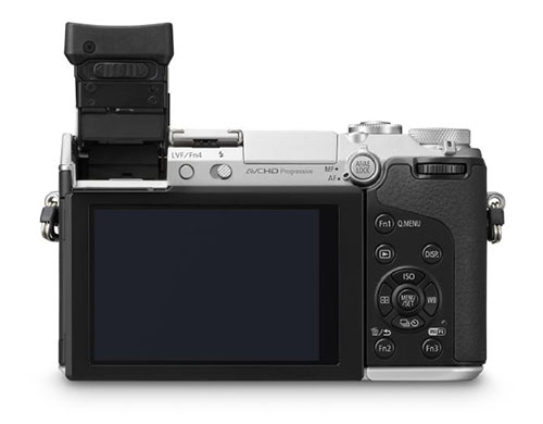 Panasonic GX7 camera viewfinder